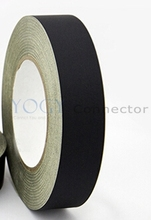 1x 12mm*30 Meters Black Isolate Acetate Cloth Tape Adhesive for Notebook Phone Tablet LCD Monitor Repair Coil Cable Wrap(China)