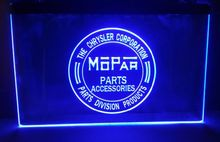 Chrysler Mopar Parts beer bar pub LED Neon Sign vintage home decor(China)