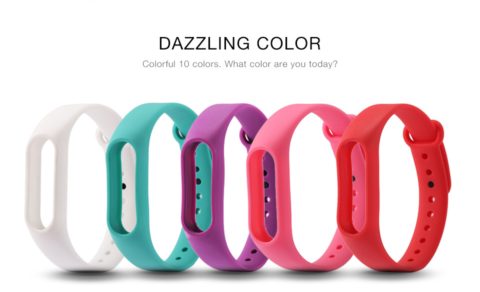 For Xiaomi Mi Band 2 Bracelet Strap Miband 2 Colorful Strap Wristband Replacement Smart Band Accessories For Mi Band 2 Silicone 2