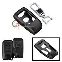 Black Aluminum Remote Key Fob 2 3 Buttons Shell Cover For Lexus IS350 LS NX GS