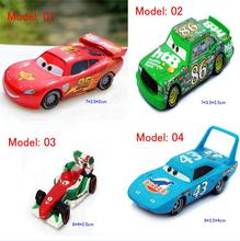 DISNEY Cars Lightning McQueen Pixar 1/55 Scale Cars 2 Toys Ultimate Edition #95 Racing Car Diecast Metal Toy For Kids