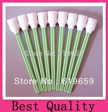 Free Shipping - 200 pc Lintless Form Swabs to clean printers ink heads Printer Cleaner Swab with alcohol resistant foam head(China)