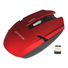 2.4 GHz Wireless Optical Mini PC Laptop Notebook gaming Mouse Mice Red 2.4G gaming mouse (E-1700 red)