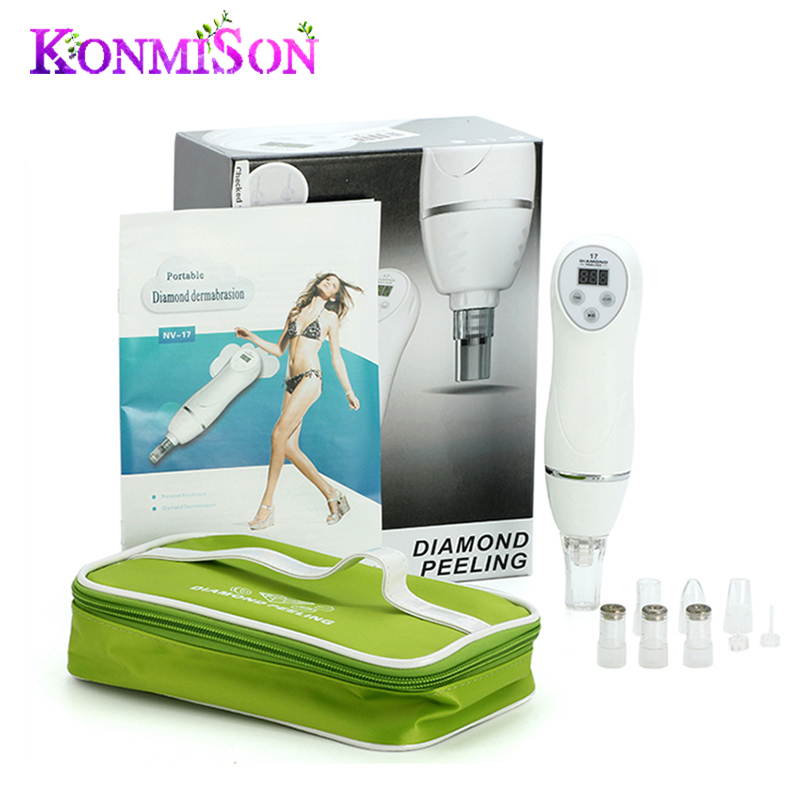 Portable Dermabrasion Diamond Peeling Machine Skin Diamond Peeling Microdermabrasion Skin Care and Beauty Anti-aging Device<br><br>Aliexpress