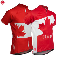 NEW 2017 Leaf CANADA Jersey Bike Team Cycling Jersey / Wear Clothing Breathable Customized Ropa CICLISMO JIASHUO 2 Chooses(China)