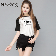 Love Life Funny Picture Women O-Neck Raglan Sleeve Blouse Shirt Blusas Femininas Tumblr Tops Tee Korean Summer Clothing Shirts(China)