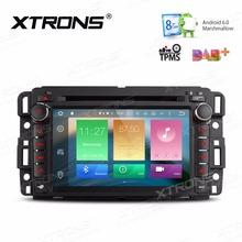 "XTRONS 7"" Android 6.0 Octa Core 2 Din Radio Car DVD Player Steering Wheel GPS Navigation for Chevrolet Buick GMC HUMMER Yukon H2"