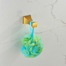 Newly Modern Bathroom Accessories Gold Finish Bathroom Robe Hooks,Coat Hanger,Clothes Hooks Towel Rack