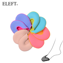 ELEFT foot care toe dance protector insoles half pad pads sponge silicone gel support ballet shoes covers high heel shoe women(China)