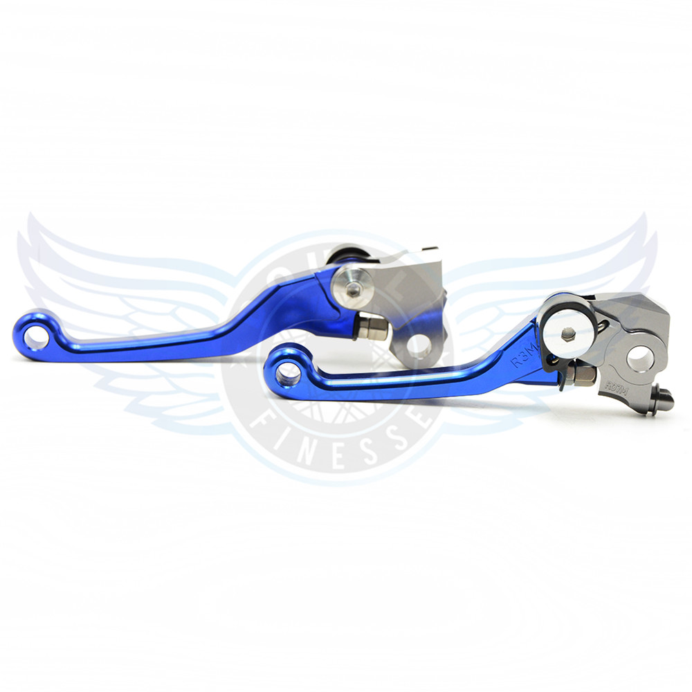 New Style Motorcycle Accessories One Pair Top Quality CNC Pivot Brake Clutch Levers Blue Color For Honda CRF450R 2002 2003<br>