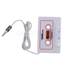 New Hot Car Cassette Tape Adapter Universal 3.5mm Stereo Vehicle Auto Cassette Adapter For iPhone For iPod MP3 Audio Car-styling