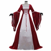Cosplay Women's Fancy Dress Medieval Victorian Lady Costume Dress