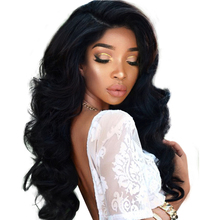 250% Denstiy Lace Front Human Hair Wigs For Black Women With Baby Hair Pre Plucked Brazilian Body Wave Wig Remy You May Hair