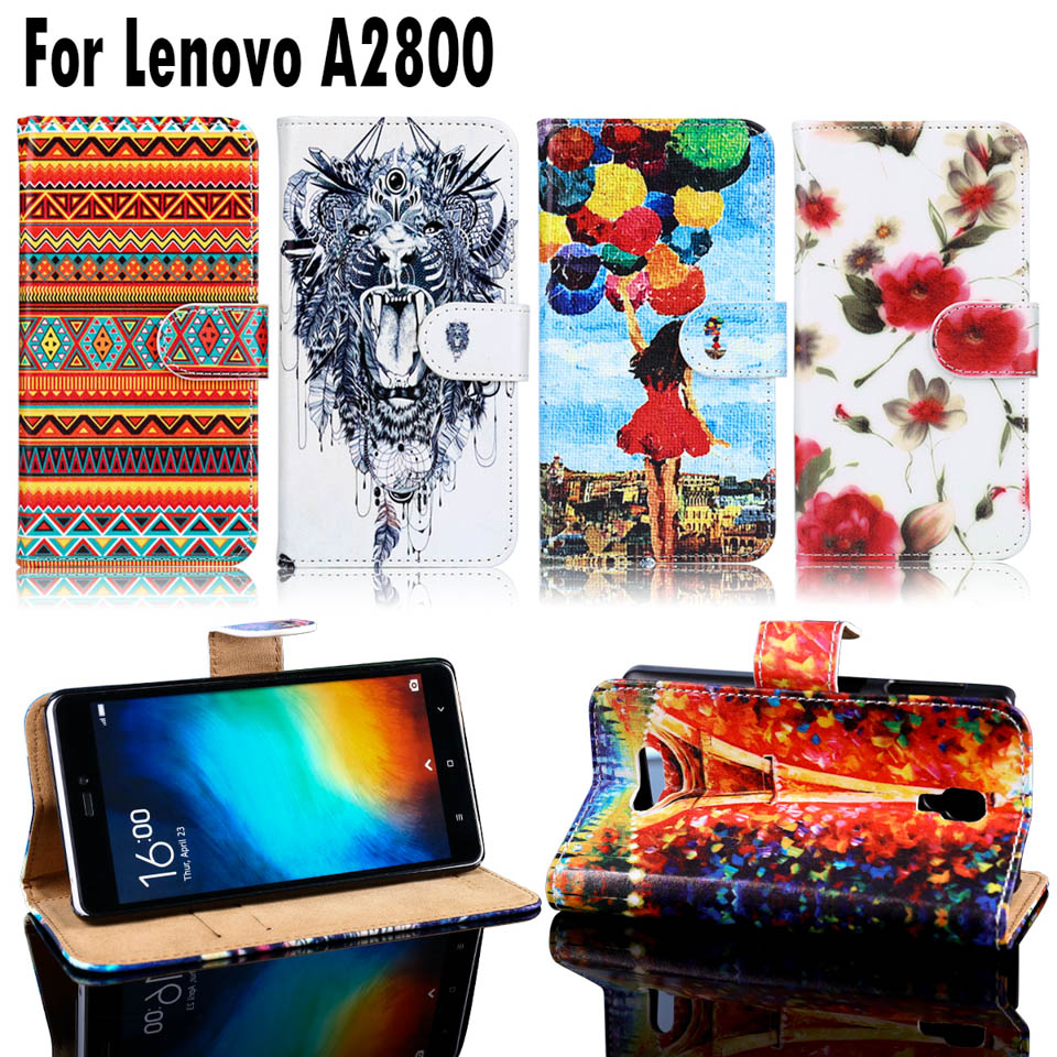 PU Leather Phone Cases Lenovo A1000 Covers A1000a20 A2800 A2800-D A2800D Housing Bags Shell Lenovo A1000 Case Cover Hood