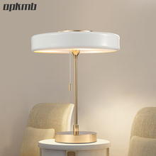 Post Modern Nordic led table lamps modern fashion luxury desk lamp art deco table light for bedroom/hotel room /living room(China)