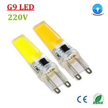 6PCS Energy Saving 220V LED Lamp bulb Replace 7W 12W 15W 20W 25W 30W Fluorescent Light SMD G9 2508 COB LEDs lampada led Dimmable