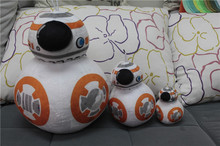 Wholesale Star Wars BB8 Plush Toys The Force Awakens BB-8 Droid Robot Stuffed Dolls 48PCS Free EMS