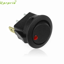 Classic 16A 12V LED Dot Light Car Boat Round Rocker ON/OFF SPST Switch CARPRIE Four Colors