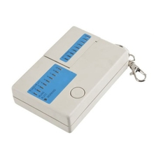 Mini Network Cable Tester RJ45 RJ11 Cat5 Network LAN Tester Cable Tester Detector Line Finder(China)