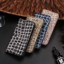 Buy Bling Glitter Rhinestone Phone Case Bag iPhone 5 6 6S 7 Plus Leather Flip Wallet Protective Cover iPhone X 10 7 8 Plus for $4.44 in AliExpress store