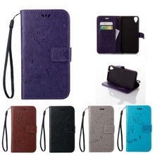 Flip Case for HTC Desire 820G 820 S G Plus F 820s 820f Lte Butterfly Leather Case Phone Cover for HTC D820g Plus D820s D820f(China)