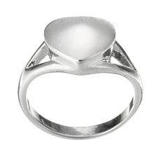 Vintage Heart Pet Memorial Ring Shellhard Stainless Steel Cremation Ash Urn Finger Rings For Women Femme Jewelry Size 7-10(China)