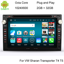 2G/32G Octa Core Android 6.0 Car DVD Player For VW Passat Golf Seat Alhambra Ibiza Leon Toledo Skoda Superb Octavia Peugeot 307