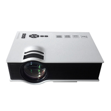 800 Lumens LED Projector 854 * 480 Pixels Mini 3D Projector Full HD 1080P TV Home Theater Proyector Multimedia Beamer
