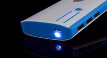 Hot selling 12000mAh Power Bank 3USB External Battery With LED Portable Power Banks Charger For Phone