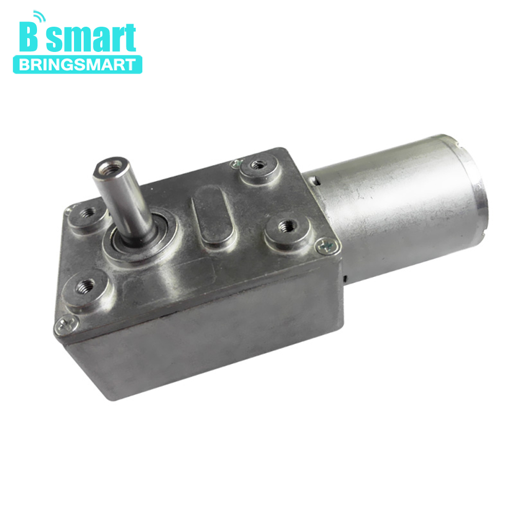 DC6V 12V 24V JGY370 Turbo Worm Speed Reduction Gear Motor w 1:3000 Metal Gearbox