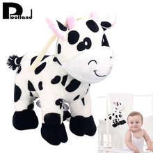 Buy Kawaii Plush Rattles Crib Toys Stuffed Animal Cow Music Box Baby Stroller Decoration Hanging Hanger Pendant Baby Infant Toys P2 for $8.26 in AliExpress store
