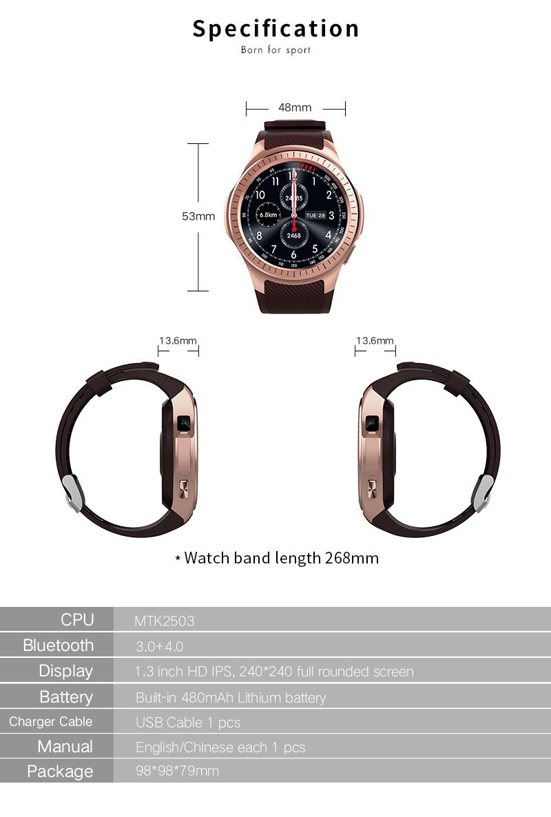 GPS Bluetooth Smart Watch for Sports 16