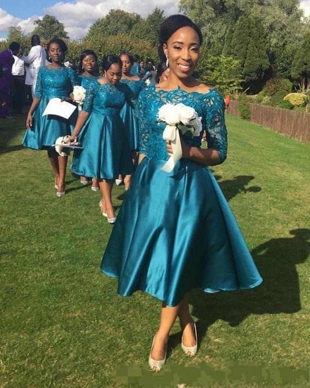High Quality Teal Bridesmaid Dresses Promotion-Shop for High ...