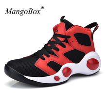 Mangobox Basketball Sneaker Boys 3 Colors Shoes Men New Cool Sneaker Woman Sneakers Light Sneakers Unisex Sport Shoes(China)