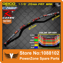 "MX Motorcycle 1-1/8"" 28mm Motorcross Dirt Bike Fat Bar Handlebars Fit  KTM CRF YZF WRF RMZ KXF KLX IRBIS Off-road Enduro"