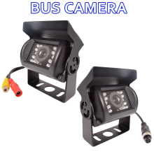 Bus Rear View Camera HD CCD Car Reverse Navigation Dead End / AV Line Rearview Parking Waterproof Truck 120 Degree Night Vision
