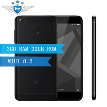"Original Xiaomi Redmi 4X Pro 3GB 32GB Smartphone 5.0"" HD Screen Snapdragon 435 Octa Core 4100mAh 13.0MP Global ROM LTE OTA"