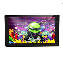Universal 2 din Android 4.2 Car DVD player GPS+Wifi+Bluetooth+Radio+dual core CPU+DDR3+Capacitive Touch Screen+car pc+aduio(China)