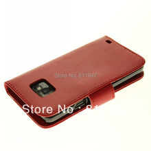 Mobile Phone Bag For Samsung Galaxy S2 SII 2 I9100 PU Leather Wallet Case For Samsung Galaxy S2 I9100 Smartphone Protective Capa