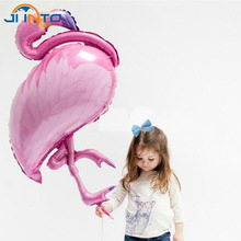 Buy Large Bird balloons Flamingo Foil Balloons Theme Party Baby Shower Wedding Birthday Party Decoration Supplies Kids Classic Toys for $1.11 in AliExpress store