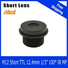 Megapixel Lens For WIFI Camera/Car Camera/Peephole/Webcam/Portable Camera 90 Degree Short Length 1/4 inch 3.2mm Free Shipping