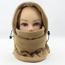 Thermal Fleece Balaclava Hat Hood Bike Wind Stopper Face Mask Men Neck Warmer Winter Fleece Motorcycle Neck Helmet Cap