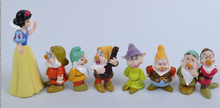 5-8cm 8pc/lot PVC Snow White and the Seven Dwarfs Classic Toy Figure Collection Action Figure Anime Kids toy(China)