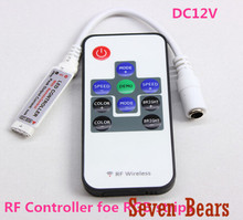 RF RGB Controller Mini RF Wireless LED Remote Controller for RGB 5050/3528 LED Lights Strips