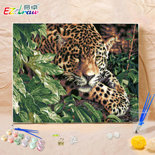 New drawing picture paint on canvas diy digital oil painting by numbers home decoration craft set girl gifts Gorgeous turn