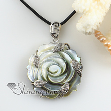 flower cameo white oyster shell rhinestone necklaces pendants 2013 handmade fashion jewelry cheap fashion jewelry