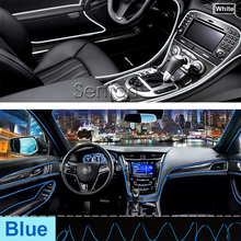 Car Interior Atmosphere Lights For Opel Astra H J G Insignia Mokka Corsa D Vectra C Zafira Meriva For Seat Leon Ibiza Altea