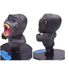 African Continent Black Gorilla Ape PVC Mini Figure RARE(China)