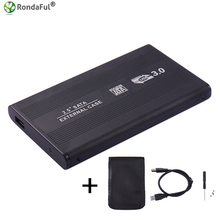 USB 3.0 HDD Hard Drive External Enclosure 2.5 inch SATA SSD Mobile Disk Box Cases laptop hard drive hdd caddy for Windows/Mac os(China)