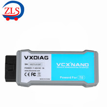VXDIAG VCX NANO for TOYOTA TIS Techstream V10.10.018 Compatible with SAE J2534 with Multi-languages Free Shipping